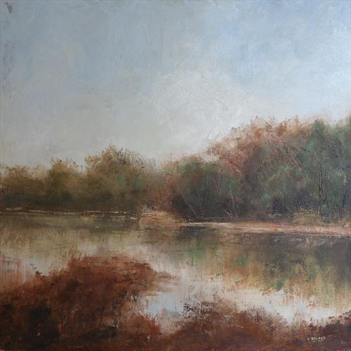 The river bank by Colin Slater