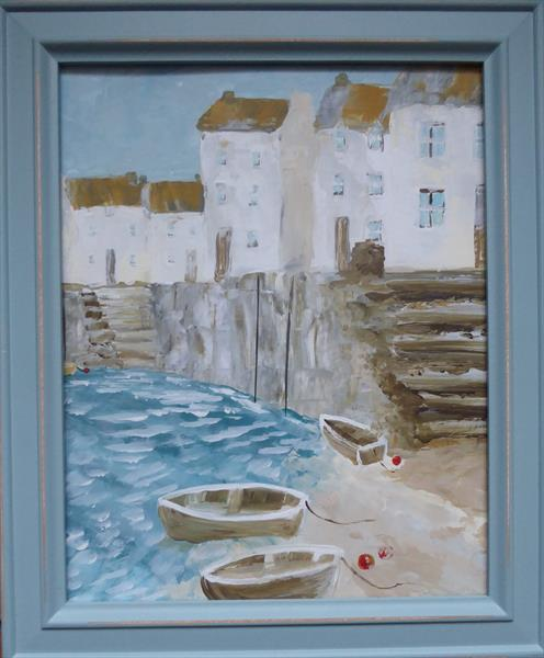 Harbour Steps by Elaine Allender