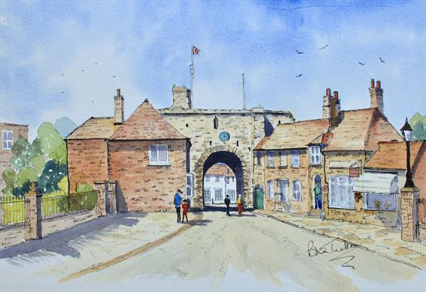 The Landgate at Rye by Brian Tucker