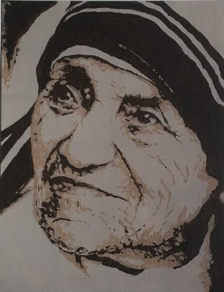 Mother Theresa by Georgina Levick