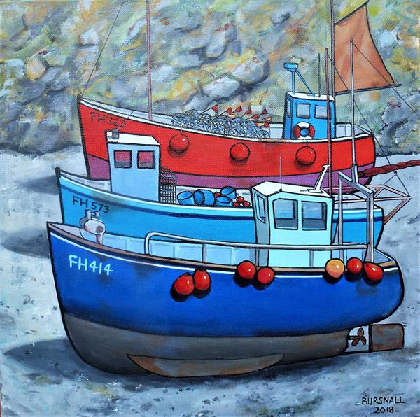 Cadgwith by Paul Bursnall