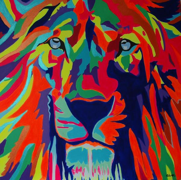 Funky Lion by Andrew Snee