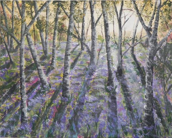 Bluebell Wood by Colin McQueen