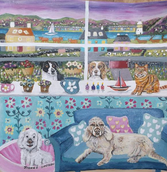 Highland Time Out by Joanne Simpson