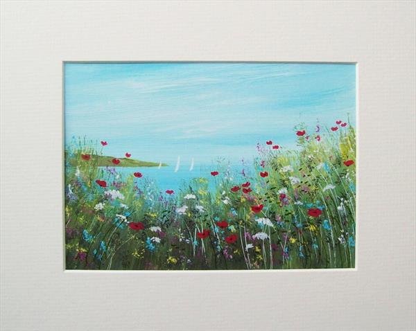 Coastal Wild Flowers and Poppies