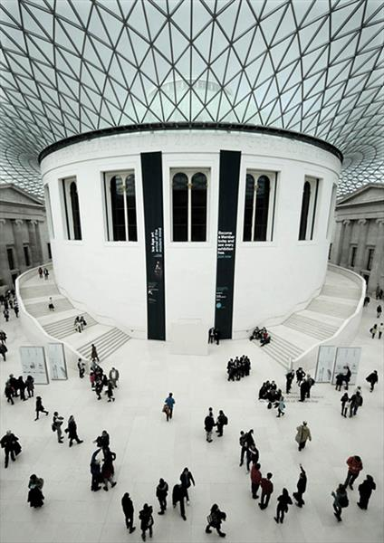 BRITISH MUSEUM READING ROOM: LIMITED EDITION 1-20 by Peter Holzapfel