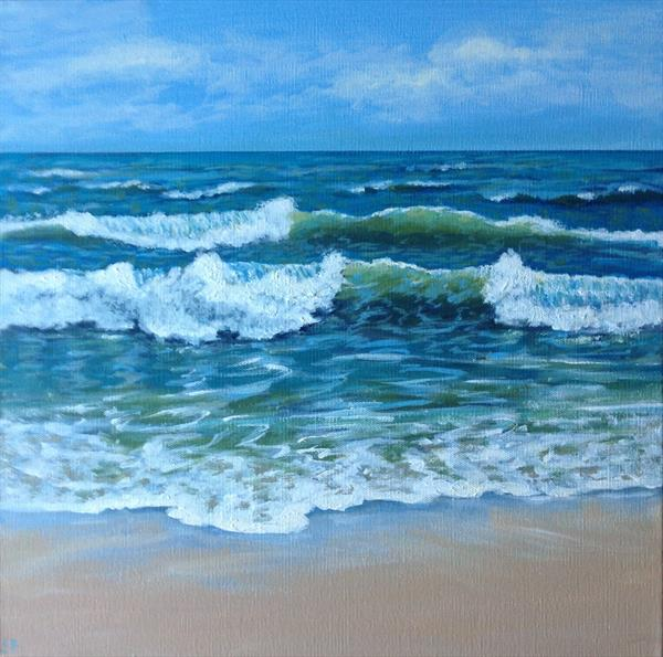 Study Of Waves  by Sandra Francis