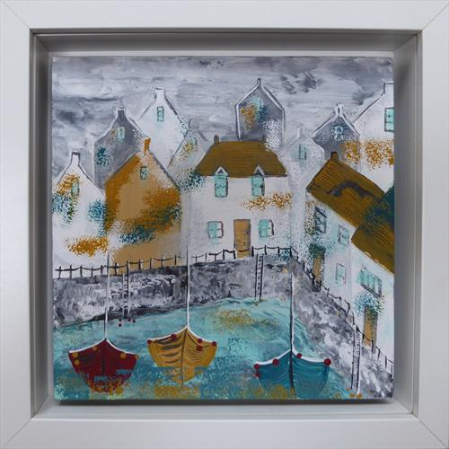 A Corner of the Harbour by Elaine Allender
