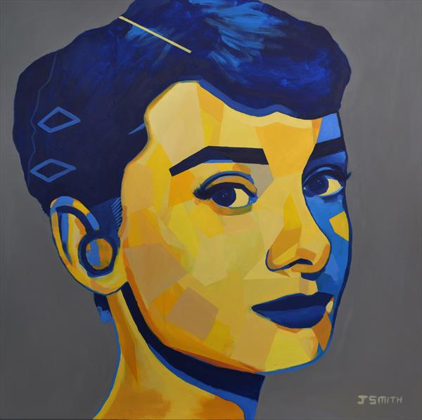 Audrey Hepburn #5 by Jason Smith