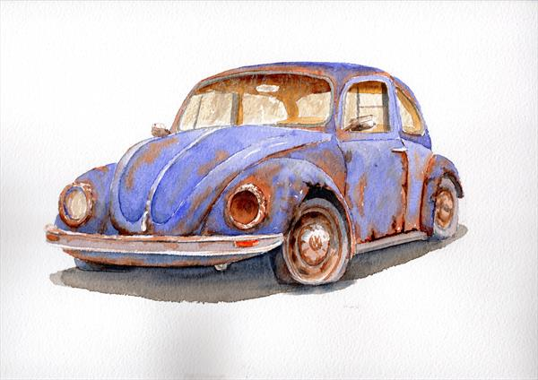Beetle - the Peoples' Motoring Icon by Gordon Brady