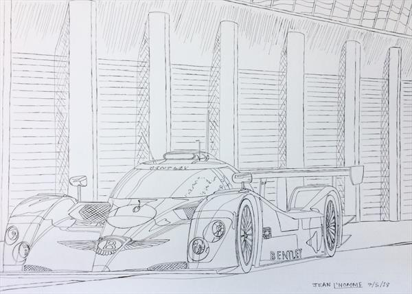 2003 Bentley Speed 8 Le Mans Racer by Jean L'Homme