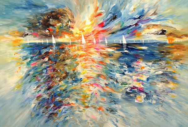 Seascape Sailing Impressions XL 3 by Peter Nottrott