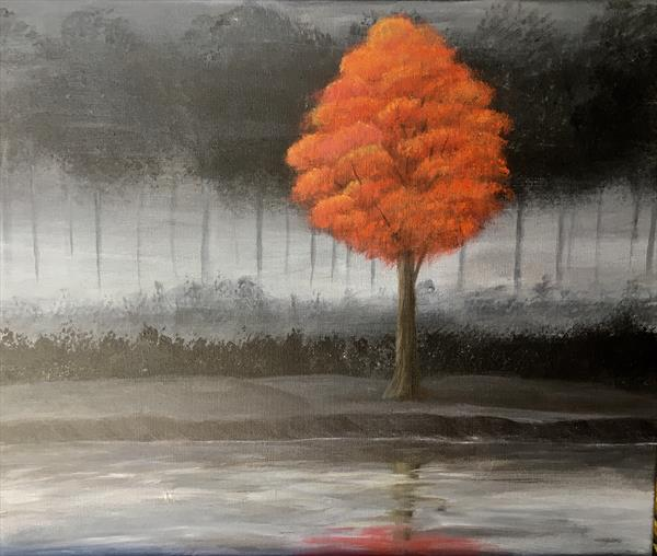 Misty solitude by Amna Sikander