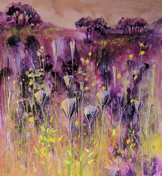 Through Purple Meadows by Tracy Butler