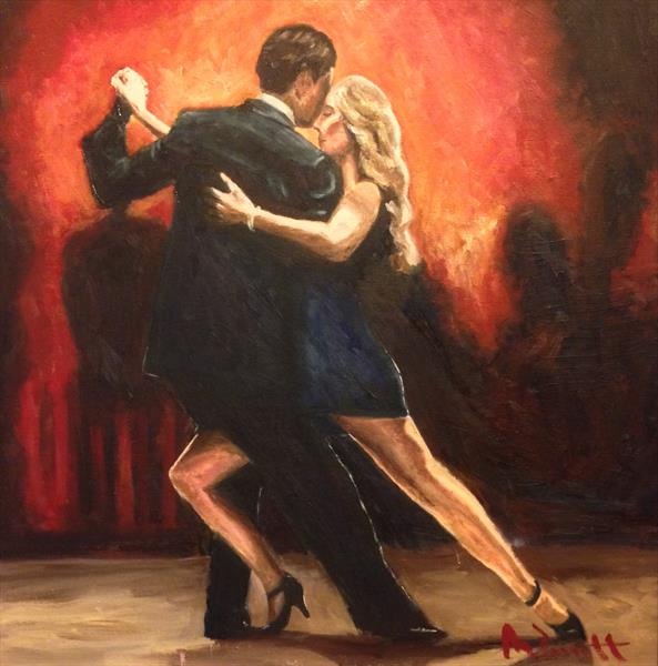 Tango Passion II by Mark Bennett