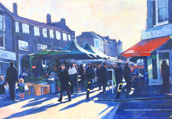 Saturday on Northcote III by Louise Gillard