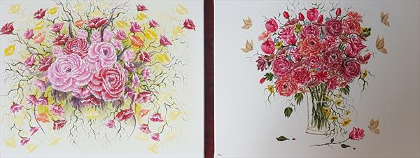 Two floral delights set by angela whitehouse
