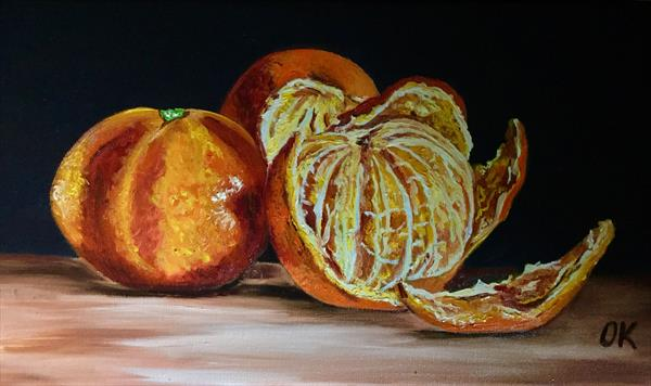 Oranges #3 by Olga  Koval