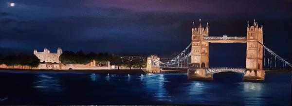 Tower Bridge by Moonlight