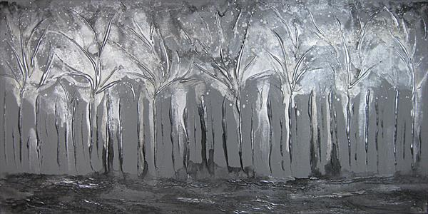 Frozen Forest by Sharon Deegan