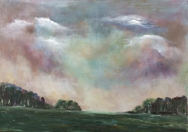 England's Green And Pleasant Land VII by Maxine Martin