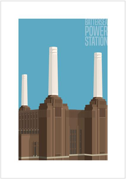 Battersea Power Station by Charlie Edwards