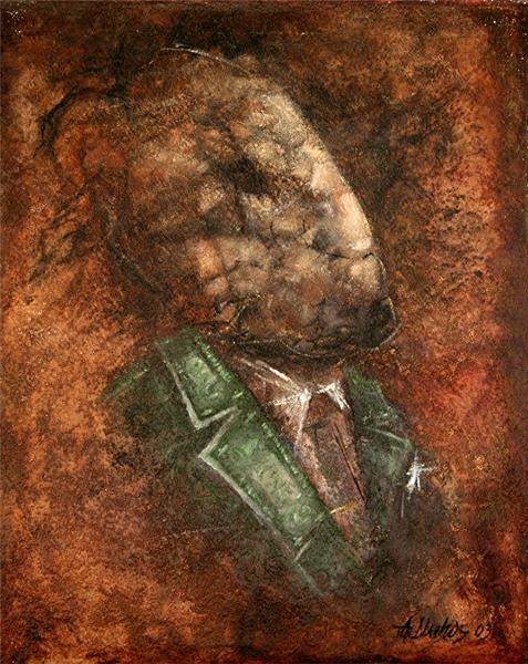 Portrait of a Lawyer by Andre Dluhos