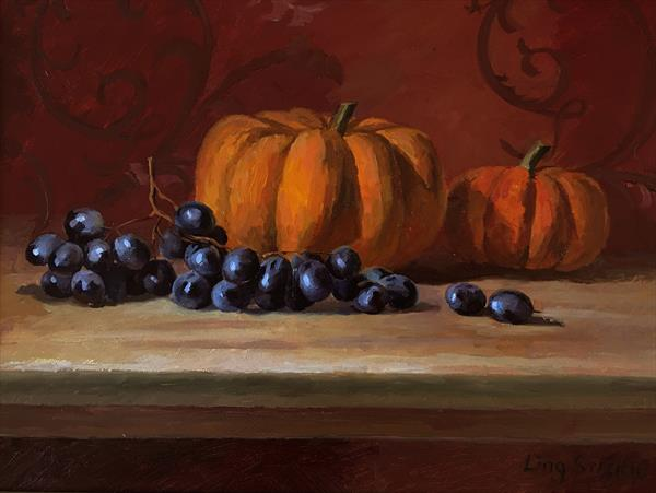 Autumn Delicious (Frame) by Ling Strube