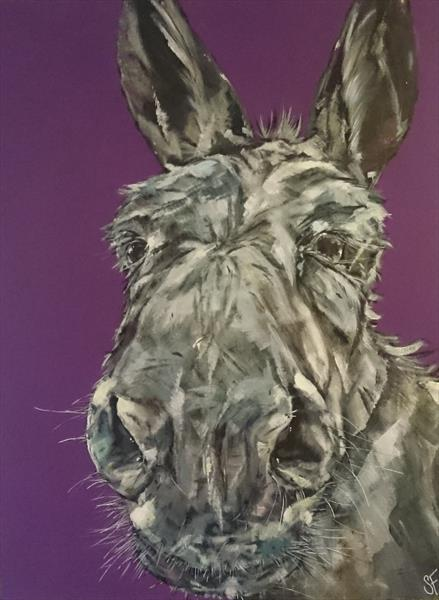 Theres No Mule Like An Old Mule  (On display at the Art Gallery, Tetbury)