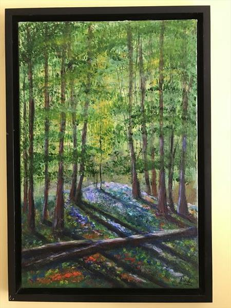 Spring Forest by Christopher Langley