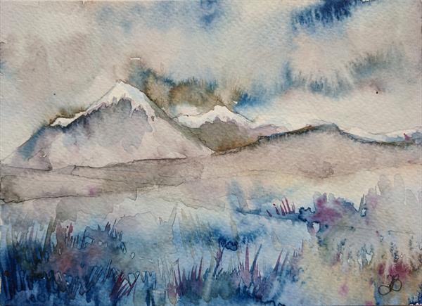 Skye in Winter by Tracy Butler