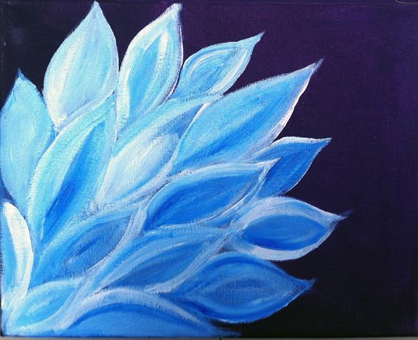 Blue Lily by Shital Bhudia