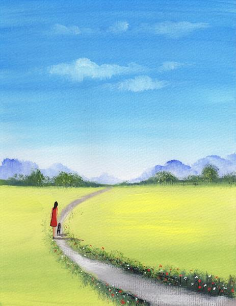 Summer Walk by Sarah Featherstone