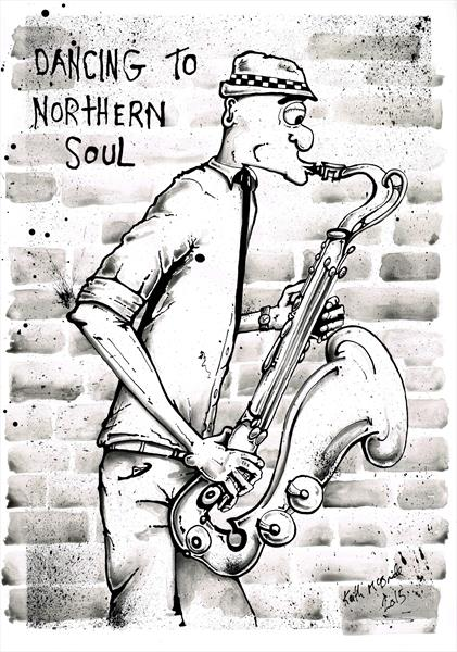Dancing to Northern Soul by Keith Mcbride