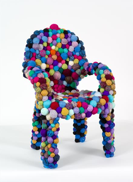 The Knitters Chair by Maria Rogers