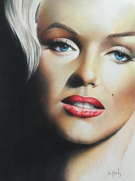 Marilyn Monroe by Joe Hendry