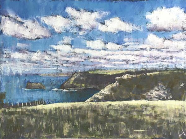 Tintagel to Boscastle, Cornwall by Louise Gillard