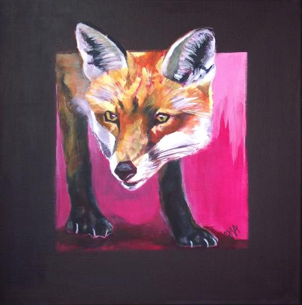 Foxy stare by Gill Aitken