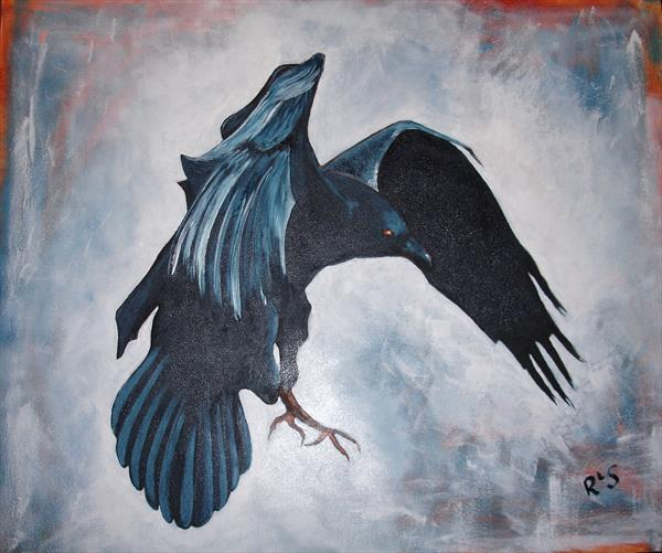 The Crow Descending by Rosie Searle