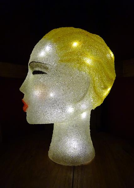 Art Deco Headlamp by Paula Horsley