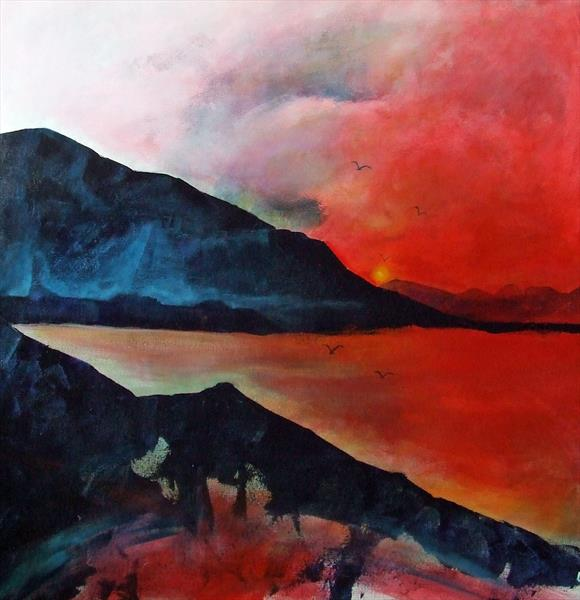 Red Lake by Bryony Harrison