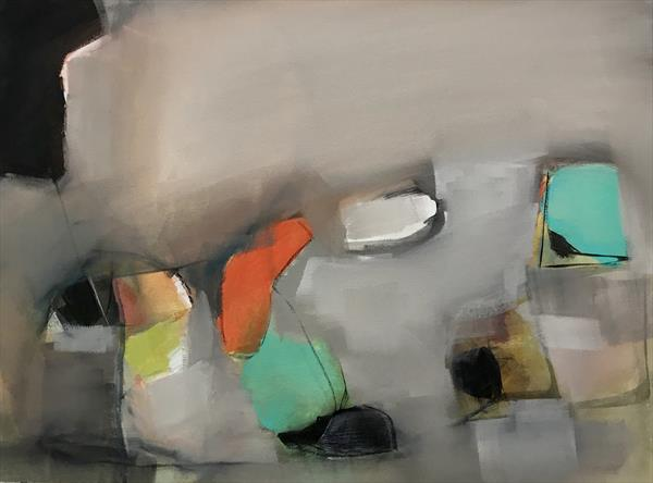Abstract Composition  by Leyla Murr