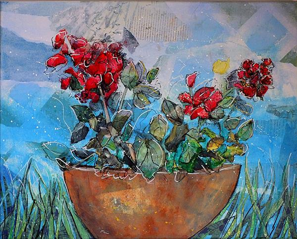 Holiday Flowers by Tracey Unwin