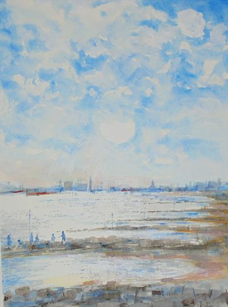 TOWARDS SOUTHAMPTON by John Davies