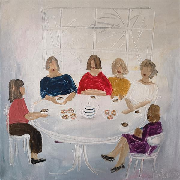 Ladies who lunch  by cheryl Morrice