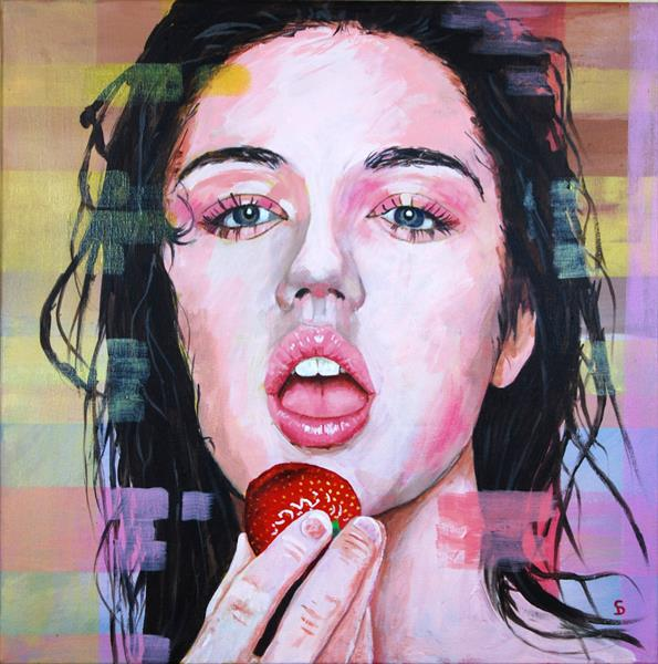 Strawberry and cream by Stuart Dalby