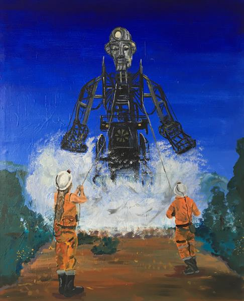 The Man Engine  by Simon Farnell