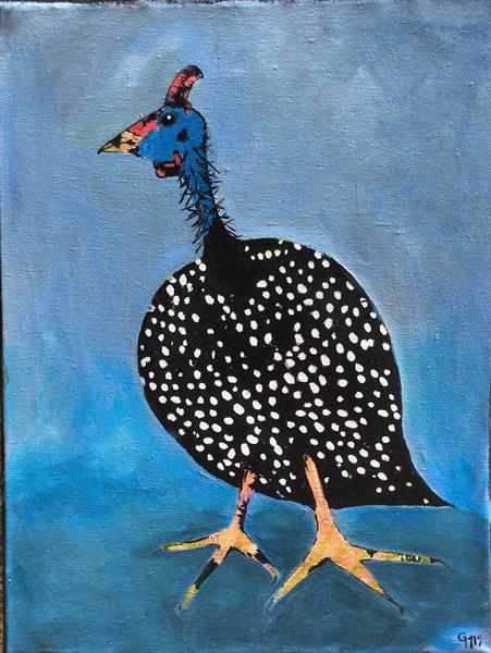 Guinea Fowl by Gill Masters