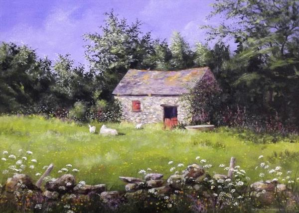 Barn, late Spring by Stuart Parnell