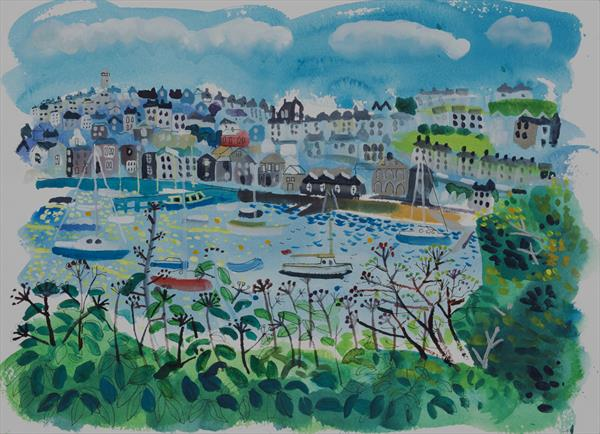 Falmouth from Flushing by alan furneaux